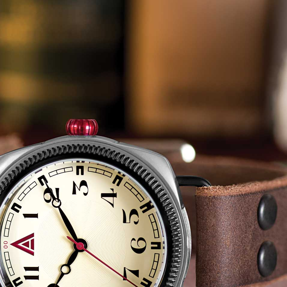 LEATHER WATCHES WT AUTHOR CREAM