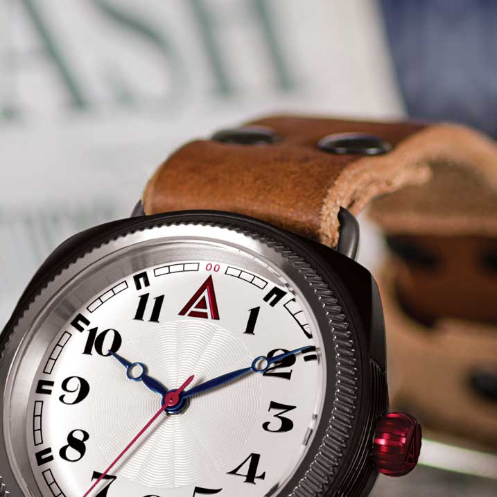 LEATHER WATCHES WT AUTHOR WHITE