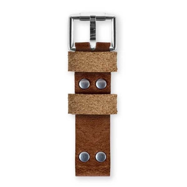 Handmade watch strap top brown by WT Author