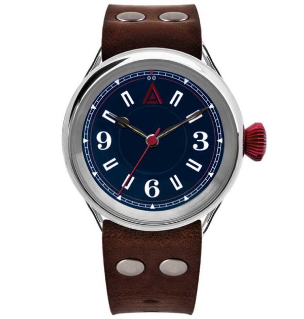 Classic Men's Watch 'No. 1905' Blue Built in Britain by W. T. Author