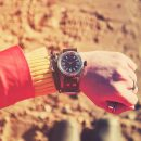 Classic Watches 'No. 1905' Wristshot Beach Built in Britain by W. T. Author