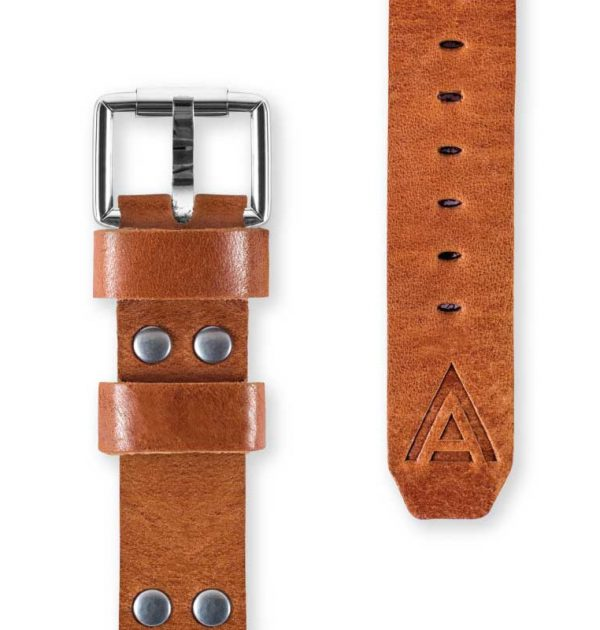 Tan Watch Band Fastened Complete Handmade by W T Author