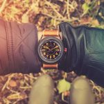 Trench Watch 'No. 1914' Countryside Wristshot Built in Britain by W. T. Author