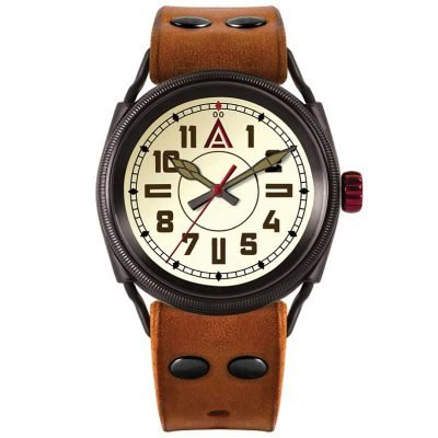 modern trench watch by WT Author Front