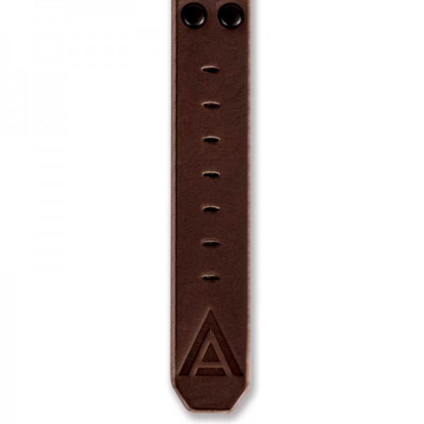 Bespoke leather watch straps bottom brown by WT Author