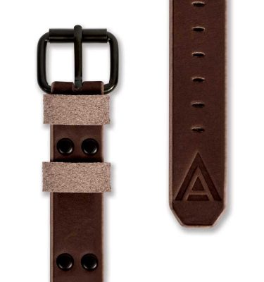 Brown Watch Strap Complete Handmade by W T Author