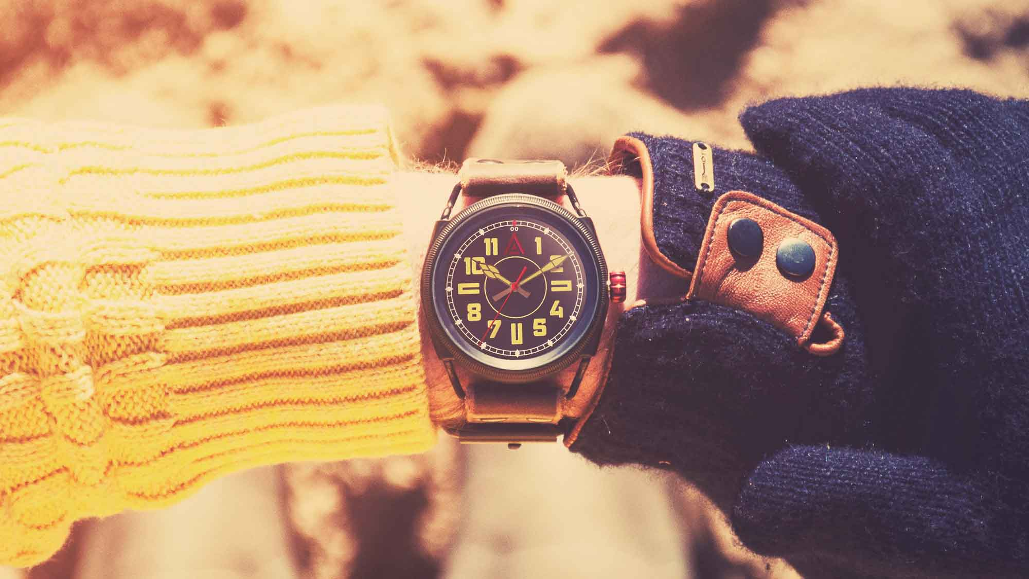military style watches no 1914 blue wt author wrist shot beach