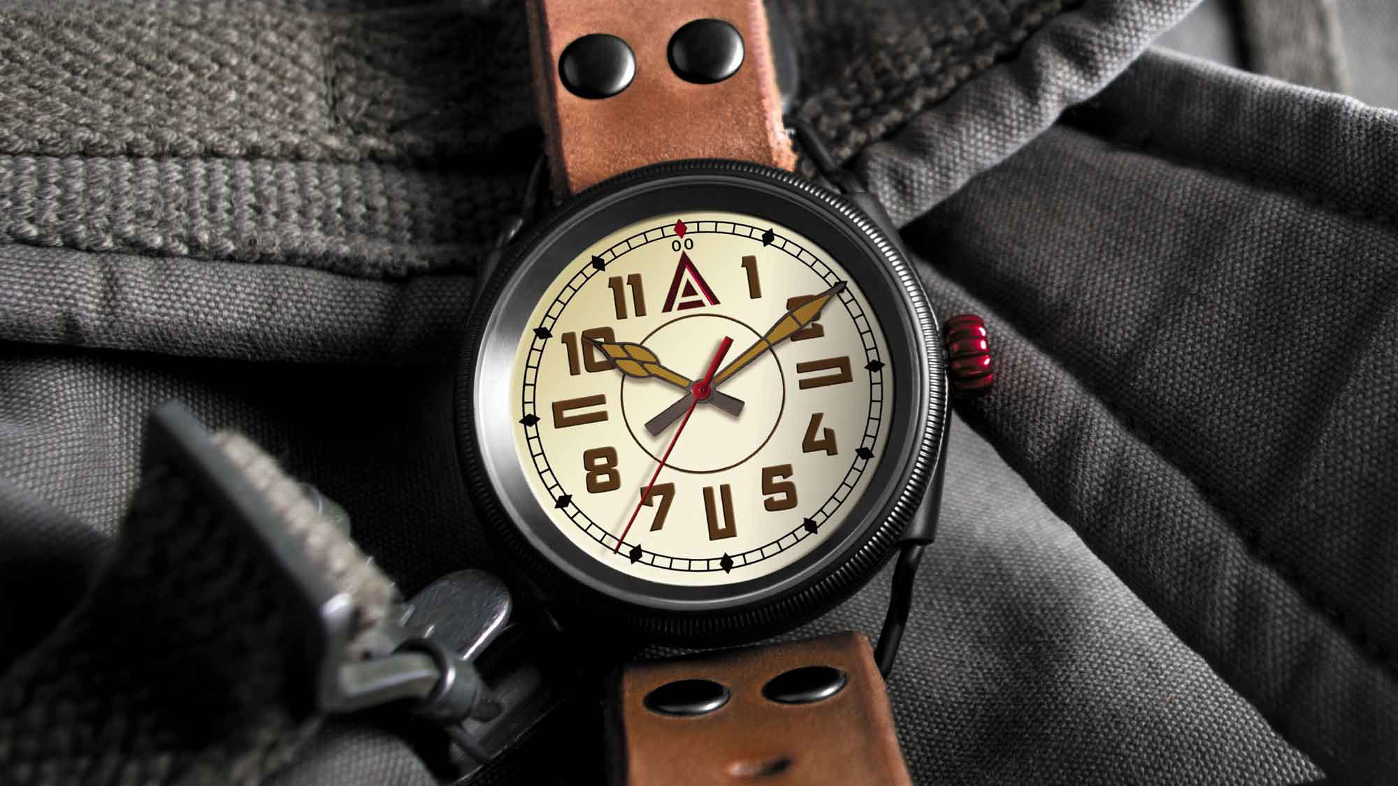 modern trench watch no 1914 cream wt author