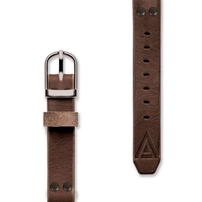Handmade straps front brown by WT Author