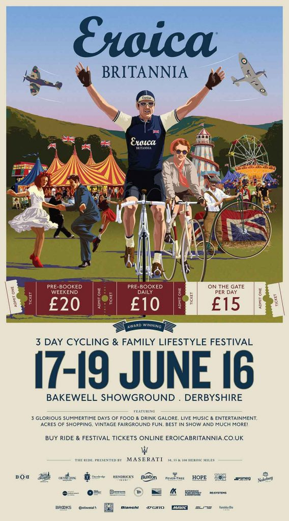 St George's Day L'Eroica Festival W T Author British Watches for Men