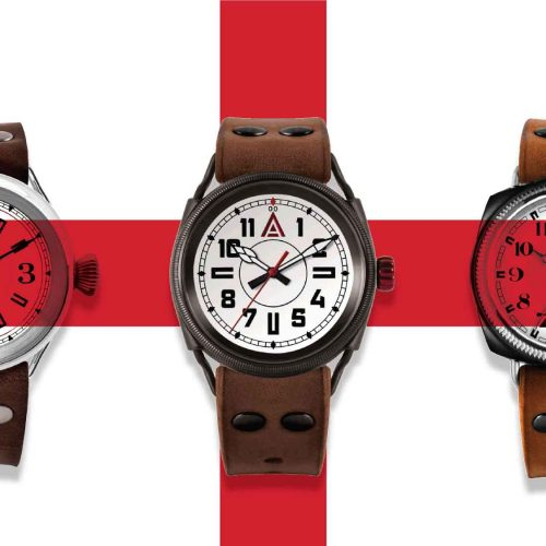 St George's Day 2016 W T Author British Watches for Men
