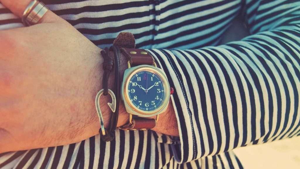 Summer 2016 WT Author British Watches for Men Blue 1929