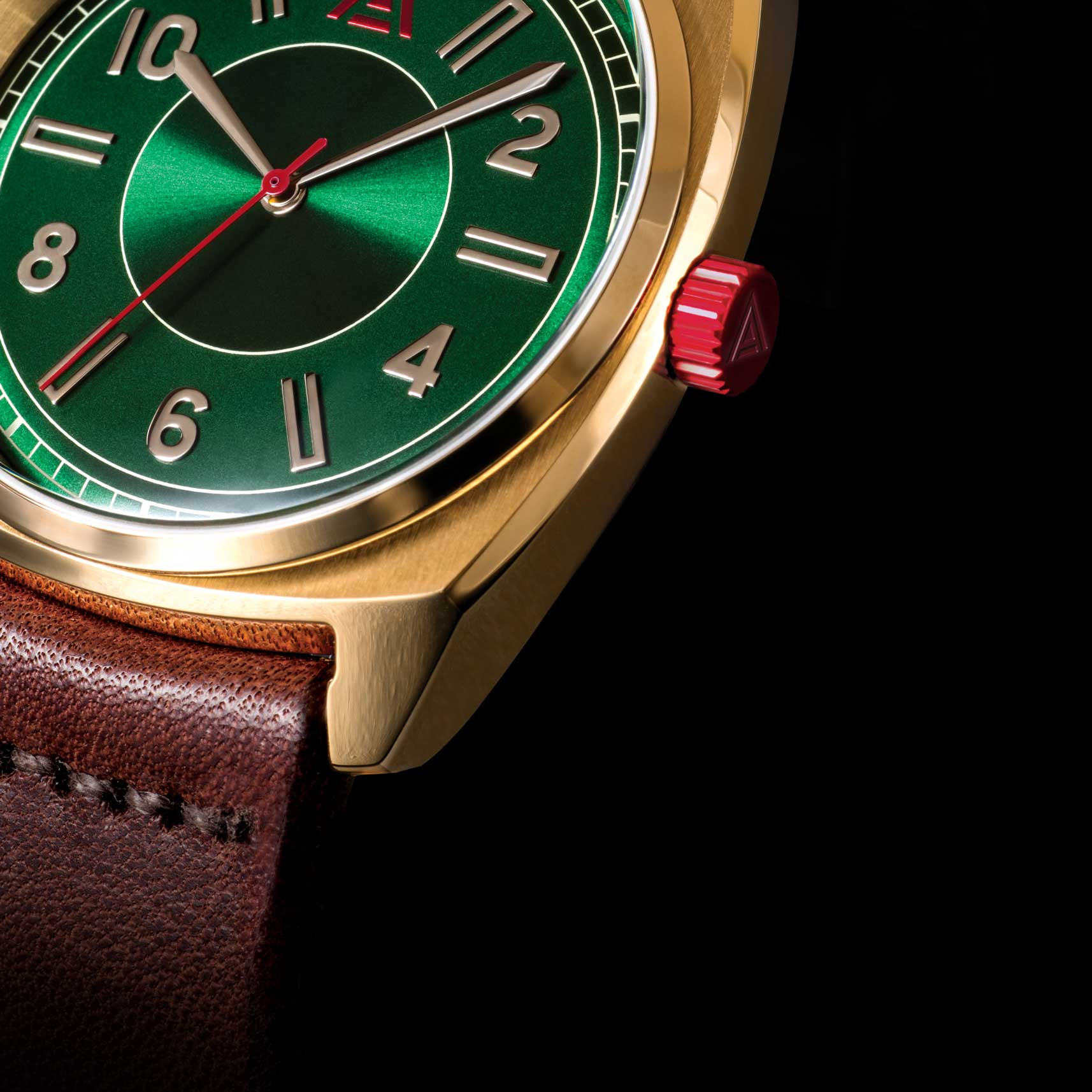 DRESS WATCHES WT AUTHOR GREEN