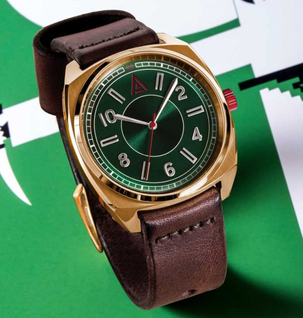 green dress watch no 1934 hero shot by w t author british watches