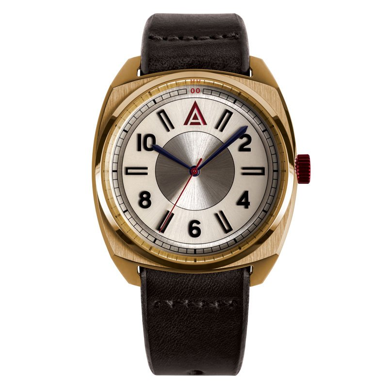 classic leather watch no 1934 by w t author british watches