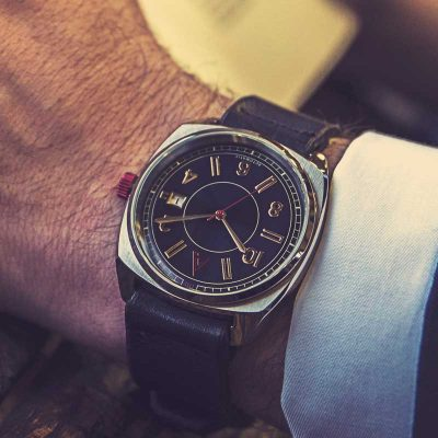 classic automatic watch Interior Wrist