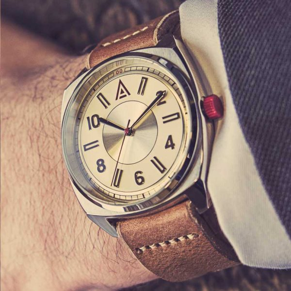 cream simple watches 1934 Cream Wrist