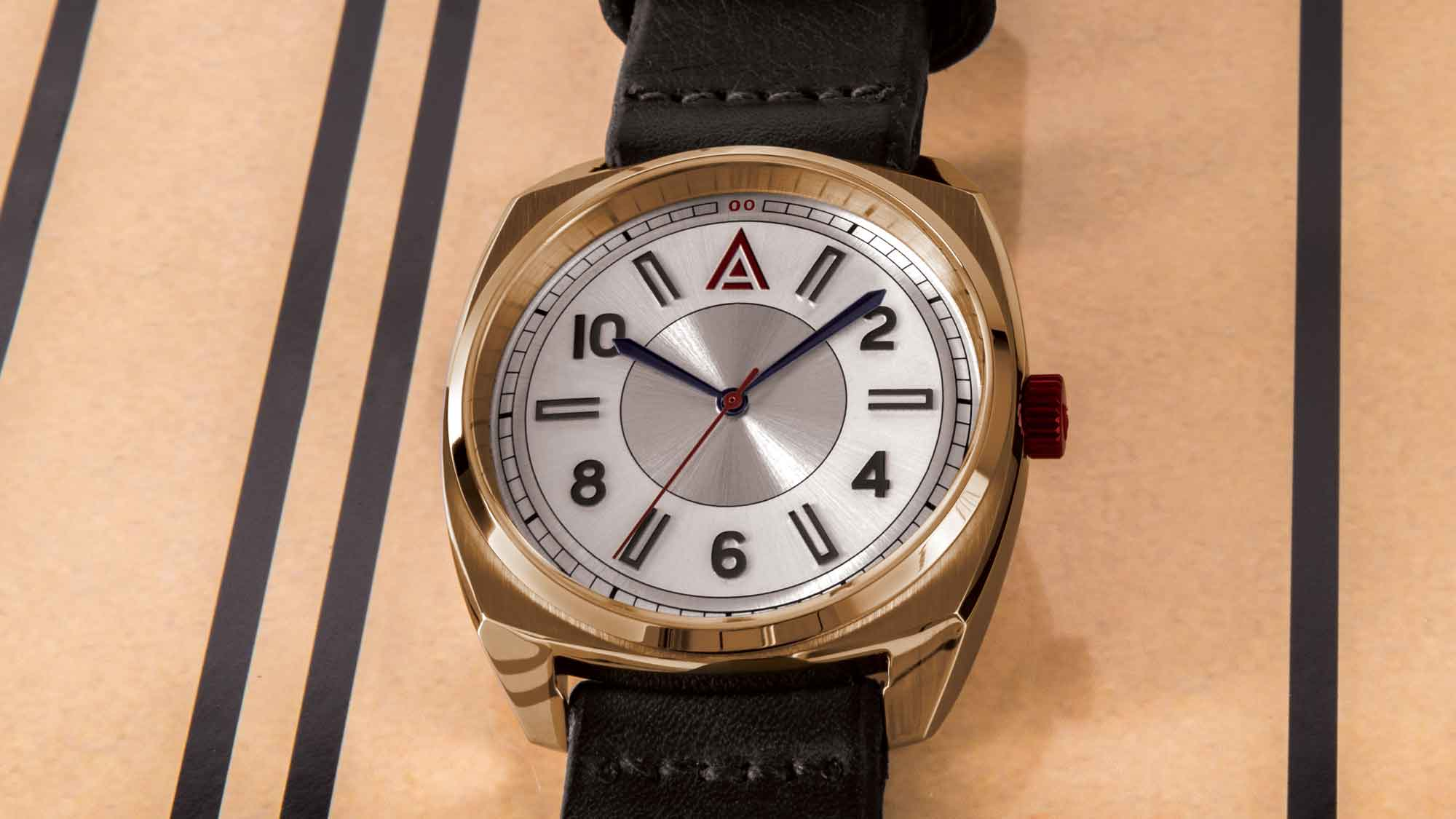 classic leather watch no 1934 white wt author