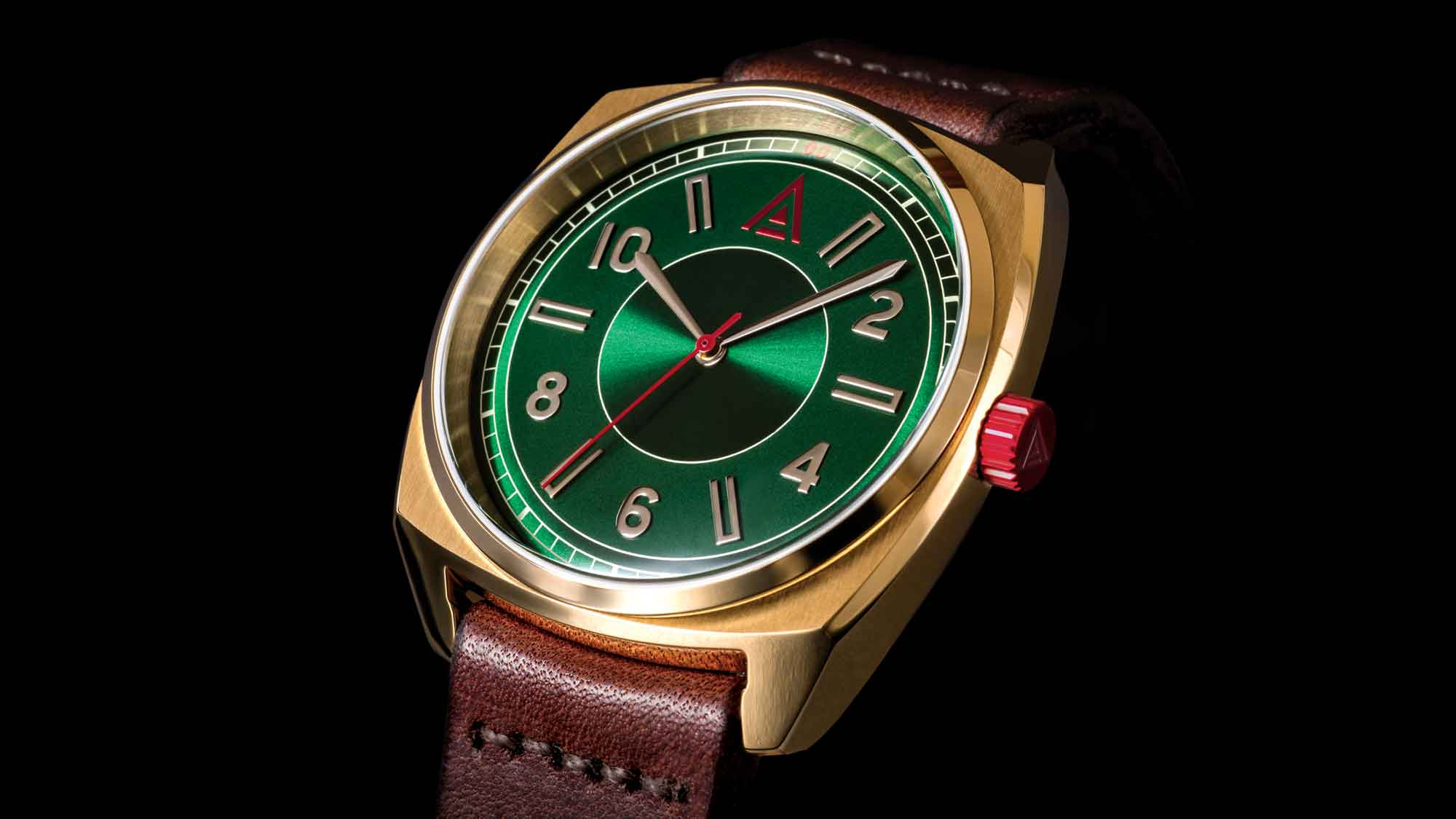 classic timepieces watch no 1934 green wt author hero