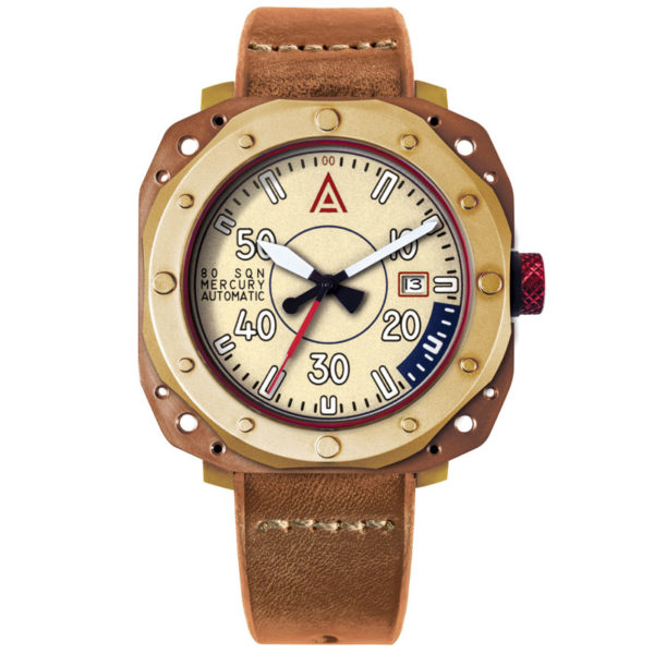 Aviation watches by wt author cream no 1940 front