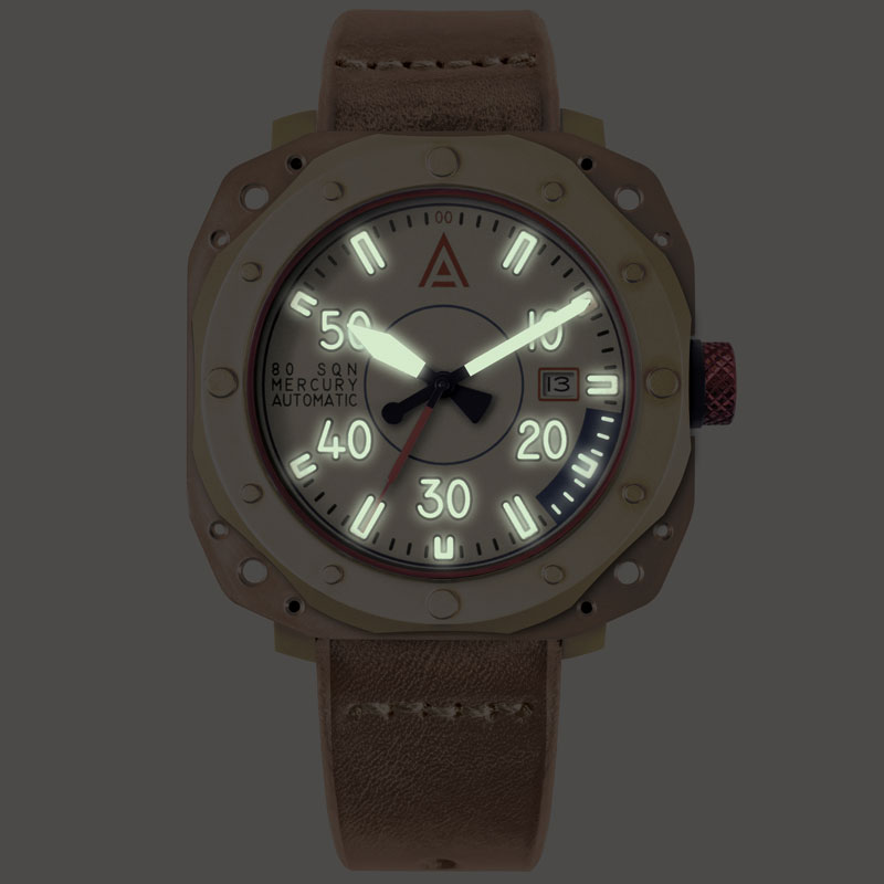 Aviation watches by wt author cream no 1940 lume