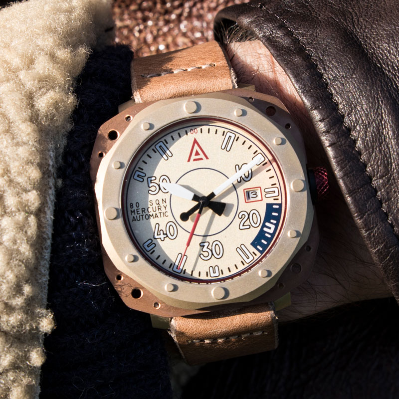 Aviation watches by wt author cream no 1940 wrist