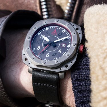 Aviator watch by wt author grey no 1940 wrist