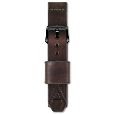 luxury watch strap full fastened
