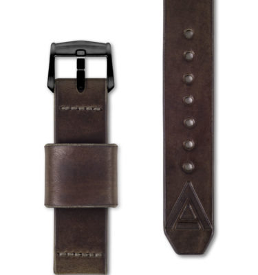 brown handmade watch strap full