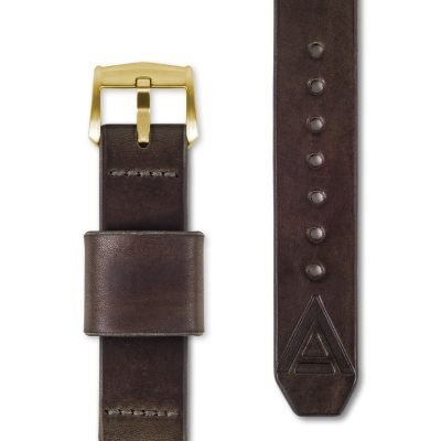 brown watch strap full