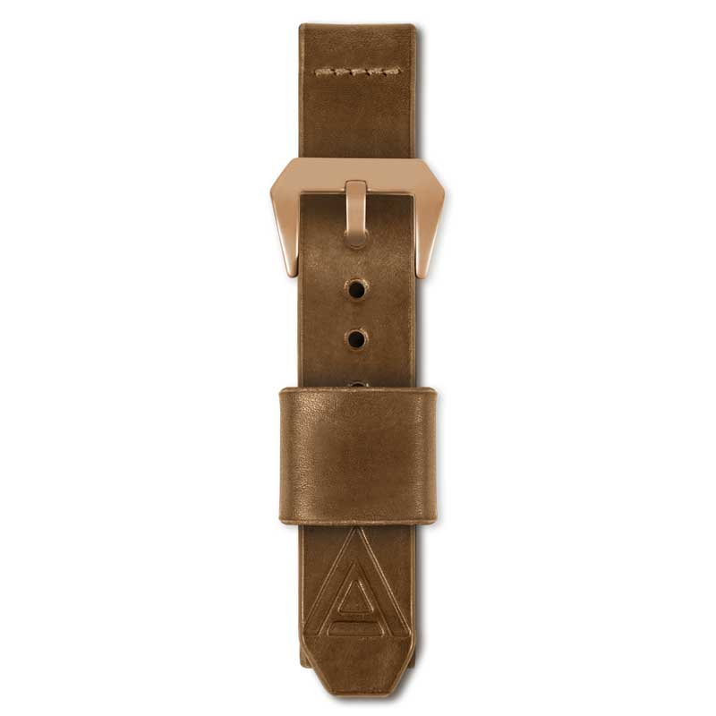 tan strap by wt author fastened