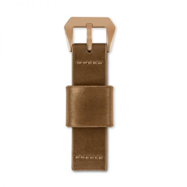 tan strap by wt author top