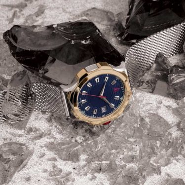 DRESS TIMEPIECES BLUE MESH Nº 1953 AUTOMATIC HERO
