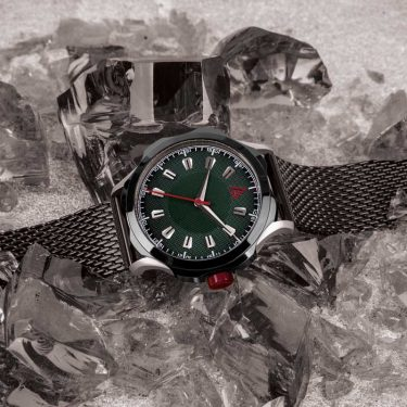MEN'S CLASSIC WATCH GREEN MESH Nº 1953 HERO