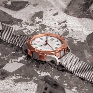WHITE TIMEPIECES MESH NO 1953 HERO