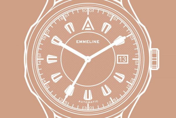 big dial ladies watches by wt author emmeline front