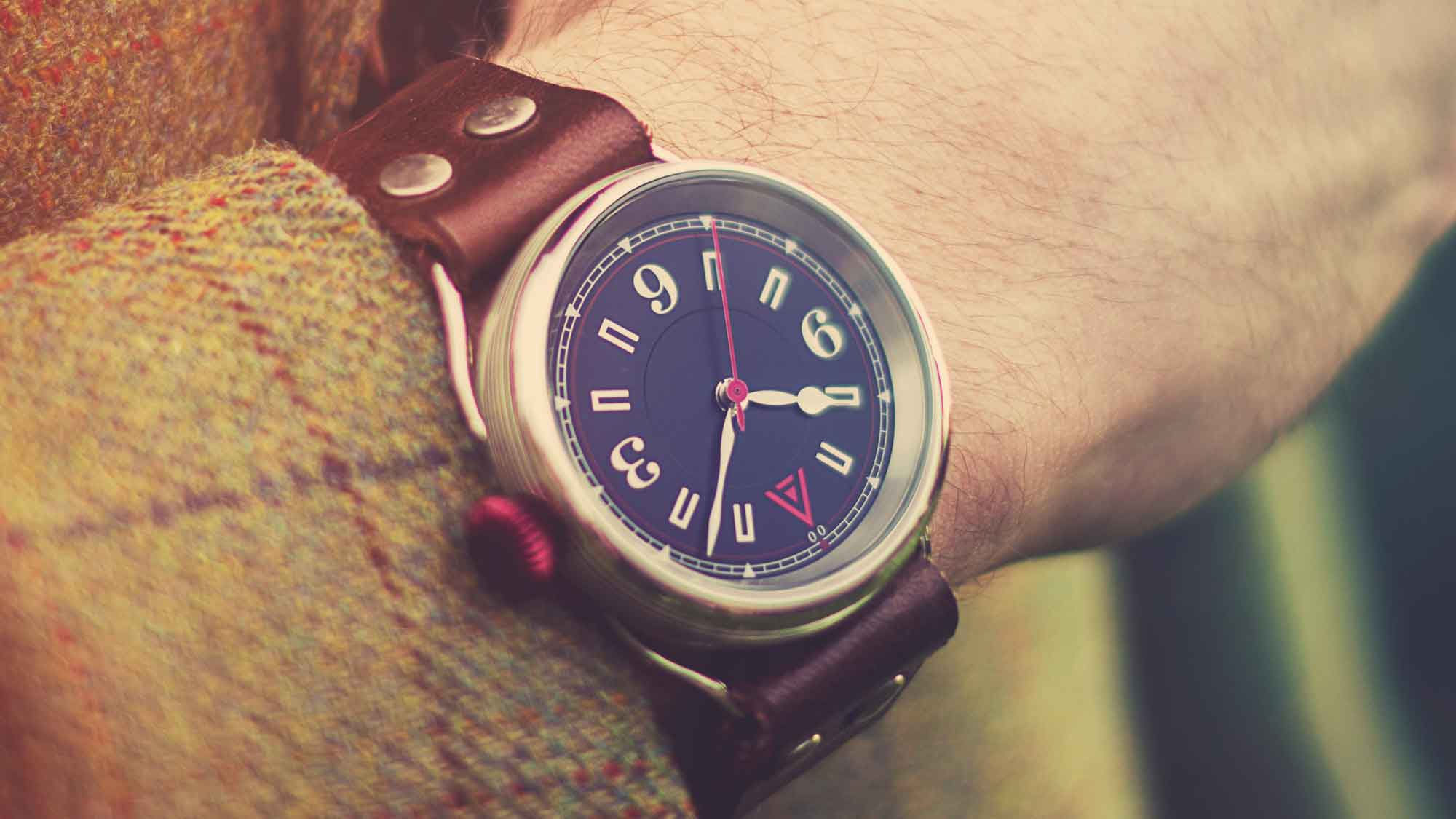 classic mens watch no 1905 blue wt author country wristshot