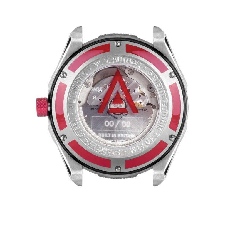 automotive watch scarlet back 1968 wt author