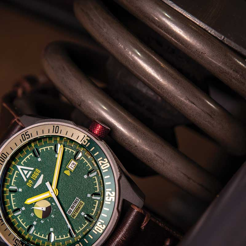 automotive watches collection green wt author