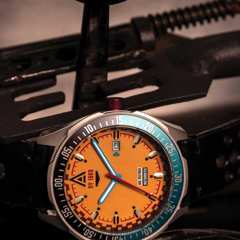 automotive watches collection orange wt author