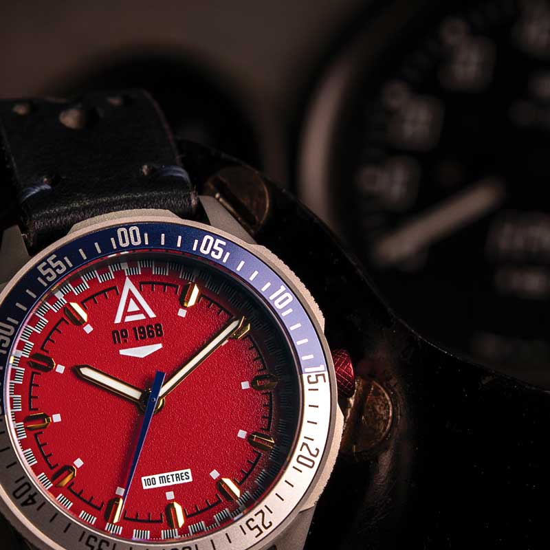 automotive watches collection red wt author