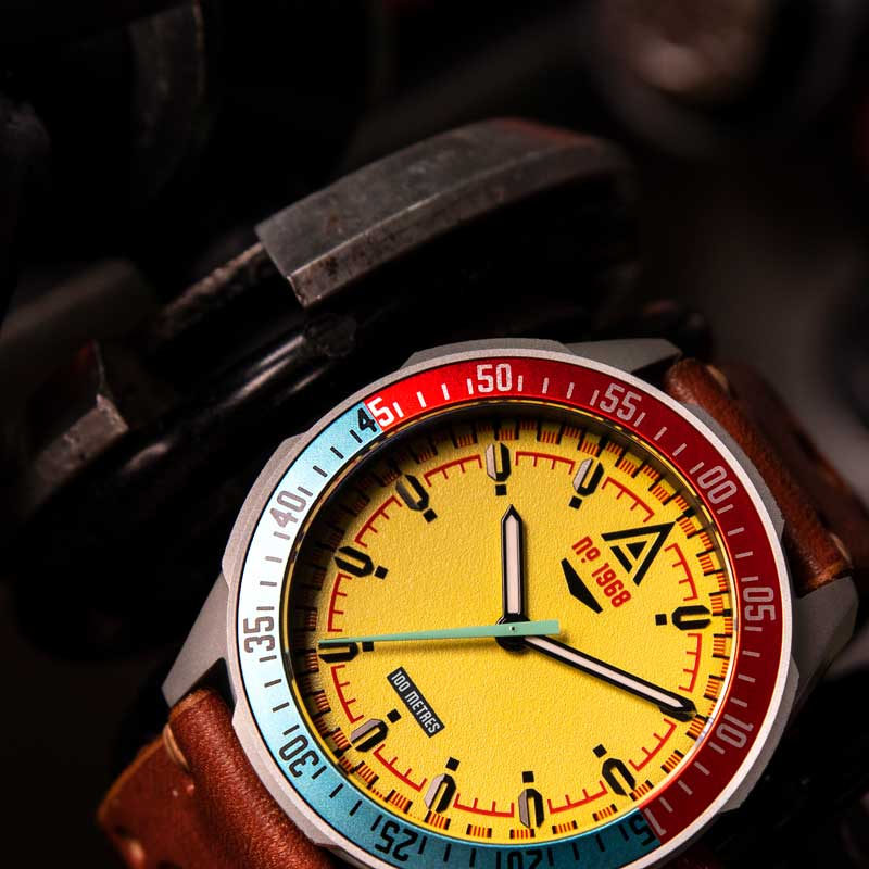 automotive watches collection yellow wt author