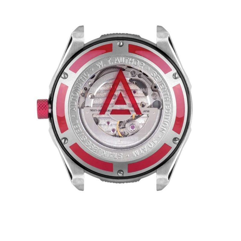 automotive inspired watches white 1968 back wt author