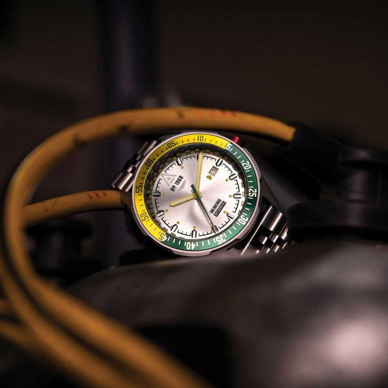 driving watch phantom bracelet 1968 hero wt author