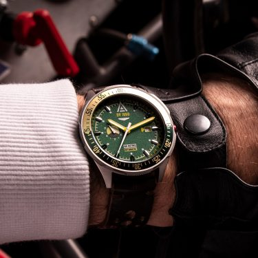 driving watches green1968 wrist wt author