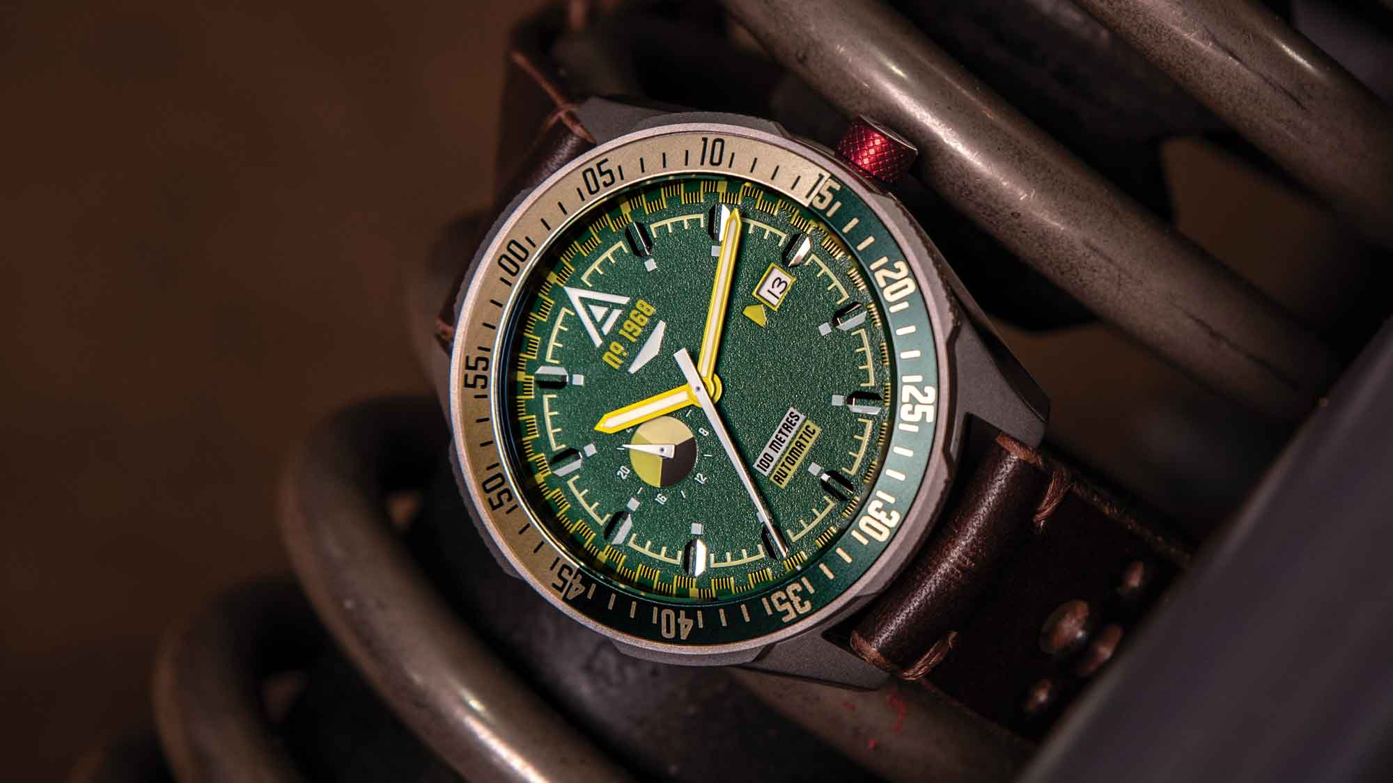 driving watches no 1968 green wt author