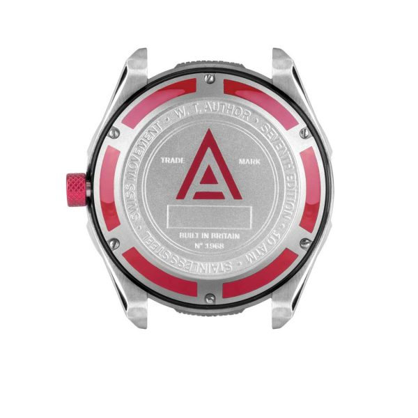 racing watch red 1968 back wt author