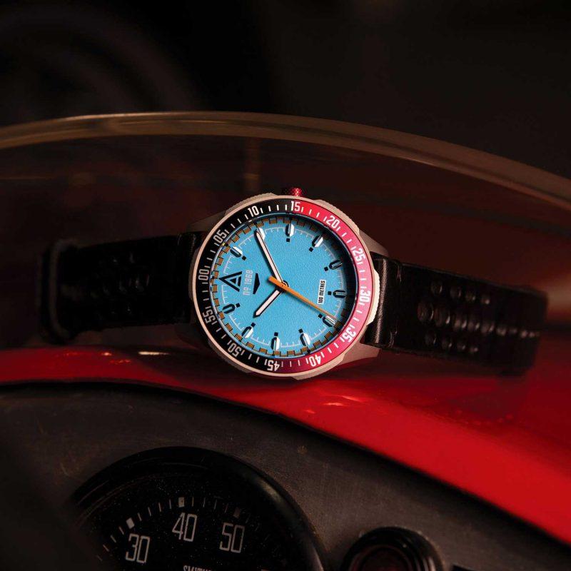 vintage racing watches cerulean bracelet 1968 hero wt author