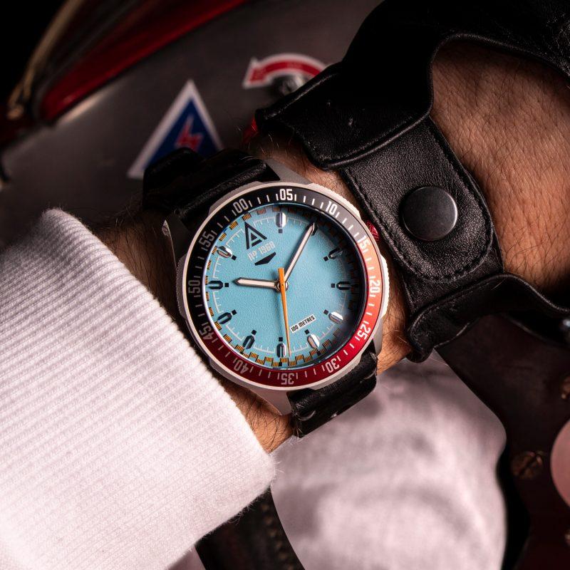 vintage racing watches cerulean bracelet 1968 wrist wt author