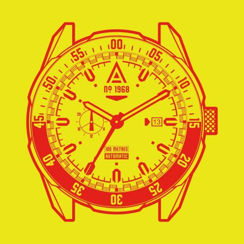 Motorsport watches by wt author 1968 front